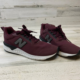 Primary Photo - BRAND: NEW BALANCE STYLE: SHOES ATHLETIC COLOR: MAROON SIZE: 12SKU: 132-13219-190106