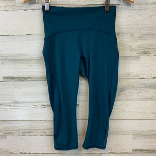 Primary Photo - BRAND: LULULEMON STYLE: ATHLETIC CAPRIS COLOR: TEAL SIZE: S OTHER INFO: 4, DARK TEAL SKU: 132-13228-164673