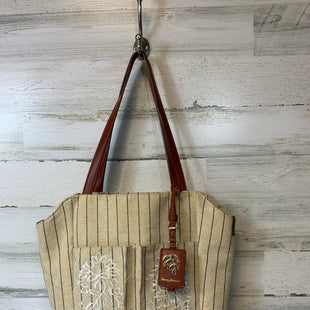 Primary Photo - BRAND: TOMMY BAHAMA STYLE: TOTE COLOR: CREAM SIZE: MEDIUM SKU: 132-13219-196397