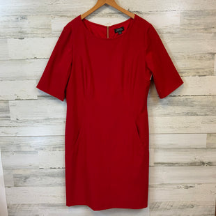 Primary Photo - BRAND: TAHARI BY ARTHUR LEVINE STYLE: DRESS SHORT SHORT SLEEVE COLOR: RED SIZE: L OTHER INFO: SZ14 SKU: 132-13211-99994