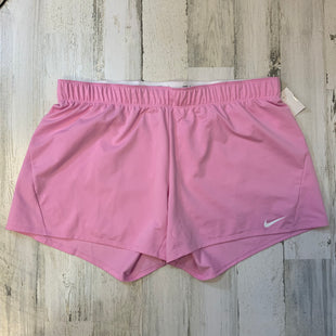 Primary Photo - BRAND: NIKE APPAREL STYLE: ATHLETIC SHORTS COLOR: PINK SIZE: 1X OTHER INFO: XXL SKU: 132-13219-198563