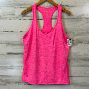 Primary Photo - BRAND: IDEOLOGY STYLE: ATHLETIC TANK TOP COLOR: PINK SIZE: L OTHER INFO: RACERBACK SKU: 132-13262-40348