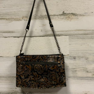 Primary Photo - BRAND: PATRICIA NASH STYLE: HANDBAG DESIGNER COLOR: BLACK SIZE: SMALL OTHER INFO: 6 X 9 X 2.5 ORANGE AND SILVER METALLIC SKU: 132-13228-162034