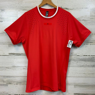 Primary Photo - BRAND: STELLA MCCARTNEY STYLE: ATHLETIC TOP SHORT SLEEVE COLOR: ORANGE SIZE: M OTHER INFO: ADIDAS LINE SKU: 132-13228-163906LASER CUT DETAILS