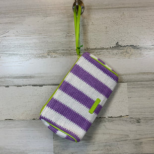 Primary Photo - BRAND: VERA BRADLEY CLASSIC STYLE: WRISTLET COLOR: PURPLE OTHER INFO: PURPLE WHITE AND LIME GREEN MEASUREMENTS: 8.5X1.75X5SKU: 132-13262-39326