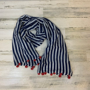 Primary Photo - BRAND: VINEYARD VINES STYLE: SCARF COLOR: BLUE WHITE OTHER INFO: STRIPES AND TASSLES SKU: 132-13219-19384676 X 24