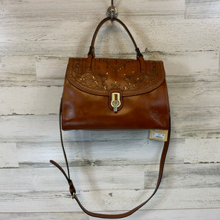 Primary Photo - BRAND: PATRICIA NASH STYLE: HANDBAG DESIGNER COLOR: BROWN SIZE: LARGE OTHER INFO: 9X5X12 NWT $299SKU: 132-13219-197408