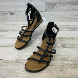 Primary Photo - BRAND: CHAPS STYLE: SANDALS FLAT COLOR: BLACK SIZE: 6.5 SKU: 132-13219-197401