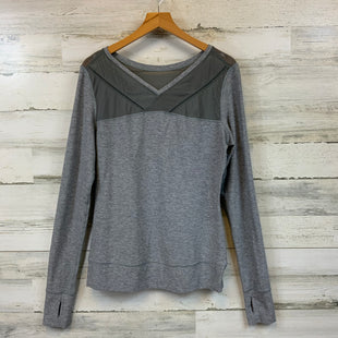 Primary Photo - BRAND: LULULEMON STYLE: ATHLETIC TOP COLOR: GREY SIZE: S SKU: 132-13262-39669