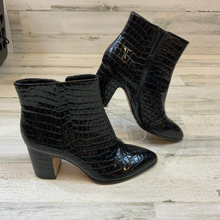 Primary Photo - BRAND: BCBGENERATION STYLE: BOOTS ANKLE COLOR: BLACK SIZE: 11 OTHER INFO: PATENT SKU: 132-13228-165497