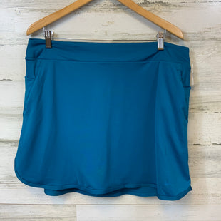 Primary Photo - BRAND: NIKE APPAREL STYLE: ATHLETIC  SKORT COLOR: TEAL SIZE: XL SKU: 132-13219-197237