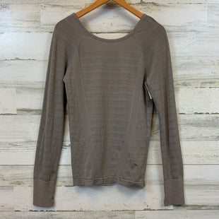 Primary Photo - BRAND: ATHLETA STYLE: ATHLETIC TOP COLOR: BROWN SIZE: M SKU: 132-13228-164625