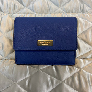 Primary Photo - BRAND: KATE SPADE STYLE: WALLET COLOR: BLUE SIZE: SMALL SKU: 132-13288-20703