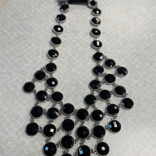 Primary Photo - BRAND: WHITE HOUSE BLACK MARKET O STYLE: NECKLACE COLOR: BLACK SKU: 132-13228-164532