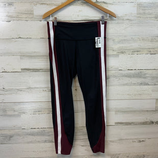 Primary Photo - BRAND: ATHLETA STYLE: ATHLETIC PANTS COLOR: BLACK RED SIZE: M SKU: 132-13281-13710