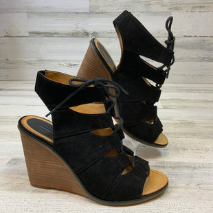 Primary Photo - BRAND: MELROSE AND MARKET STYLE: SANDALS HIGH COLOR: BLACK SIZE: 7 SKU: 132-13262-39538
