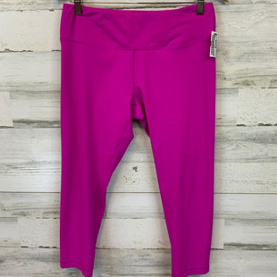 Primary Photo - BRAND: YOGALICIOUS STYLE: ATHLETIC CAPRIS COLOR: HOT PINK SIZE: L SKU: 132-13219-198355