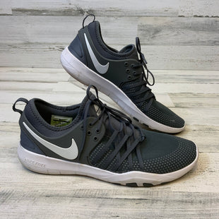 Primary Photo - BRAND: NIKE STYLE: SHOES ATHLETIC COLOR: GREY SIZE: 12 SKU: 132-13288-20407