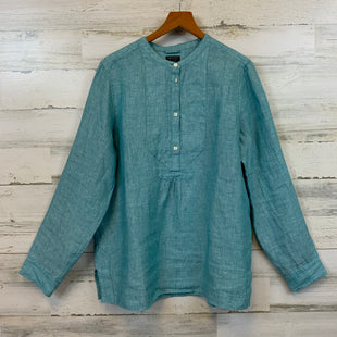 Primary Photo - BRAND: J CREW STYLE: TOP LONG SLEEVE COLOR: GREEN SIZE: M OTHER INFO: 8 SKU: 132-13219-198757