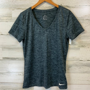 Primary Photo - BRAND: NIKE APPAREL STYLE: ATHLETIC TOP SHORT SLEEVE COLOR: GREEN SIZE: M SKU: 132-13219-198285