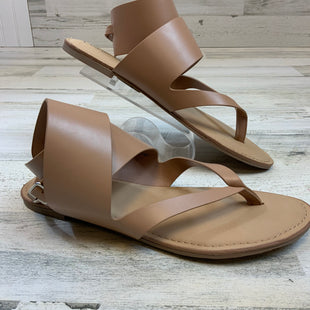 Primary Photo - BRAND: LANE BRYANT STYLE: SANDALS FLAT COLOR: BROWN SIZE: 11 SKU: 132-13219-198778