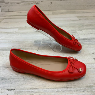 Primary Photo - BRAND: TORY BURCH STYLE: SHOES FLATS COLOR: ORANGE SIZE: 8 SKU: 132-13211-100086
