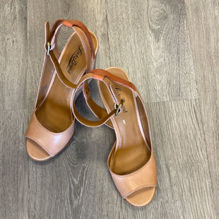Primary Photo - BRAND: LUCKY BRAND STYLE: SANDALS HIGH COLOR: TAN SIZE: 9.5 SKU: 132-13249-52438