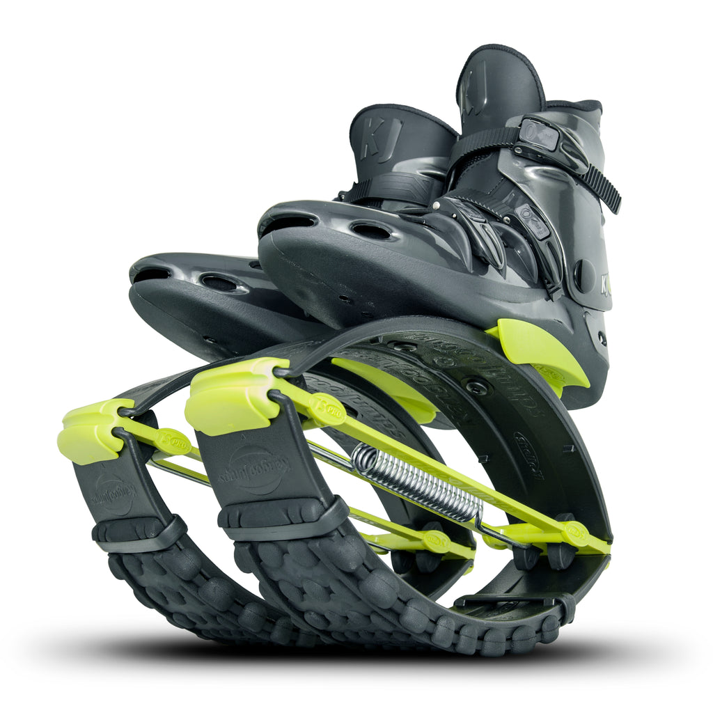 Kangoo Jumps USA Official Site: Black Yellow Pro7 Rebound Boots Shoes