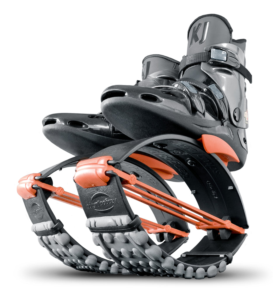 Kangoo Jumps USA Official Site: Black Orange XR3 Rebound Boots Shoes