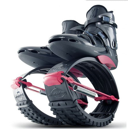 Kangoo Jumps USA Official Site: Black Red Pro 7 Rebound Boots Shoes