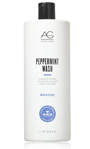 Peppermint wash invigorating shampoo and body wash 12 fl oz.
