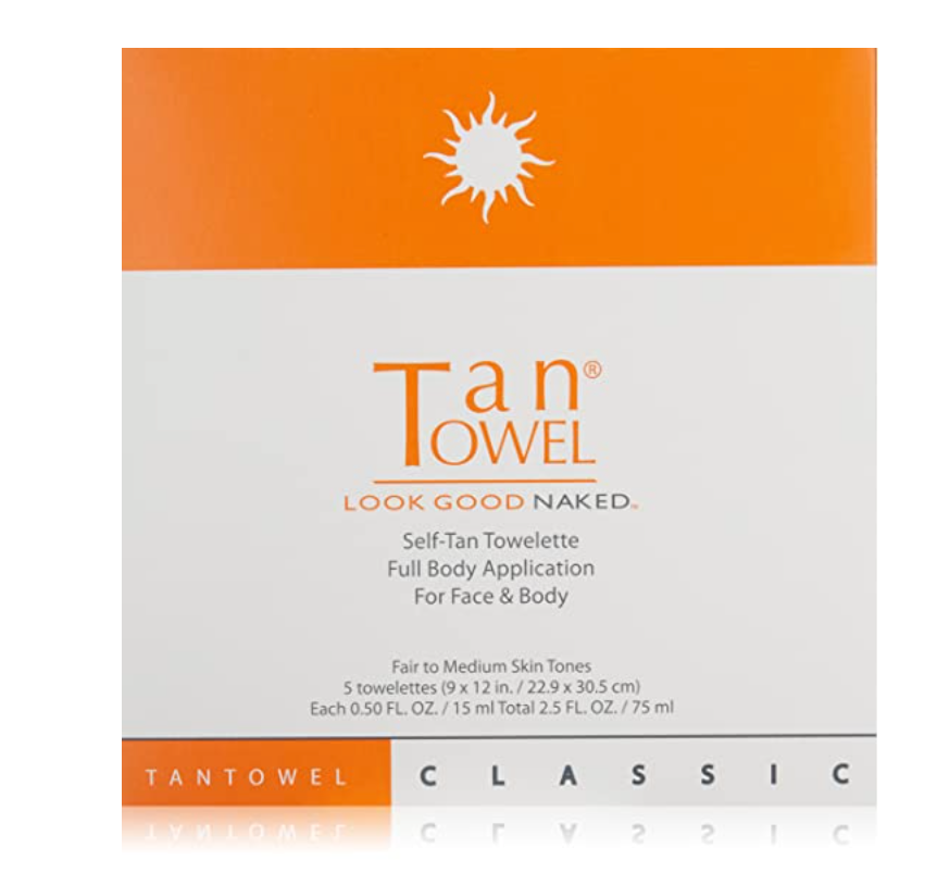 Body tan Towelettes 5 Count