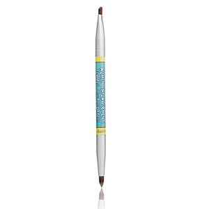 Women Empowderment Double-Ended Eyebrow/Eyeliner Brush,