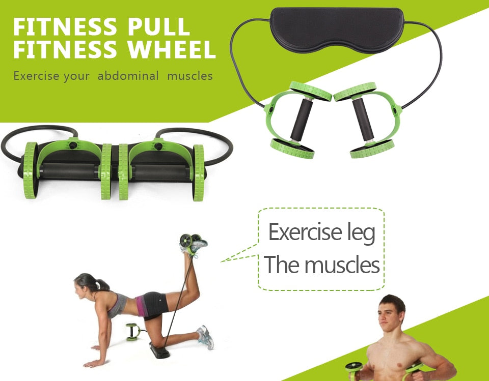 Multi Functional Exercise Wheels