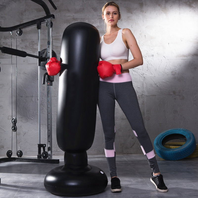 Inflatable Home Fitness Boxing Cylinder