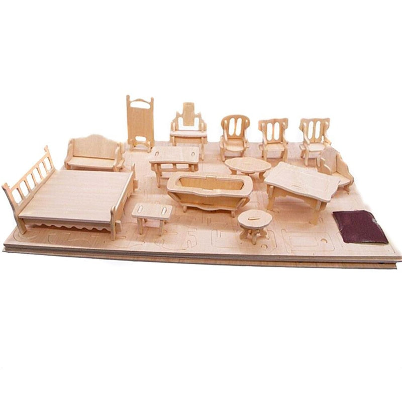 Miniature Wooden Building