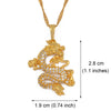 Image of Lucky Dragon Pendant Necklace