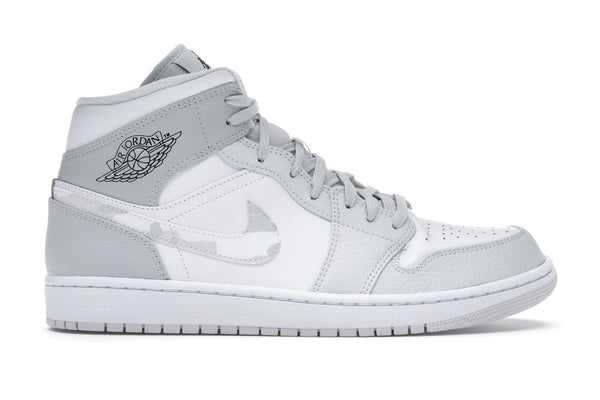 Air Jordan 1 Mid Grey Camo