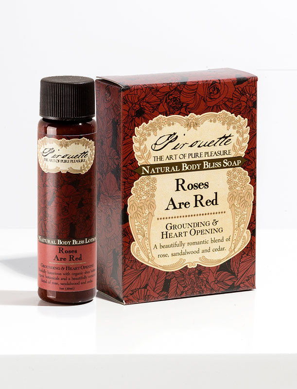 Roses Are Red - Soap & Mini Lotion Gift Set
