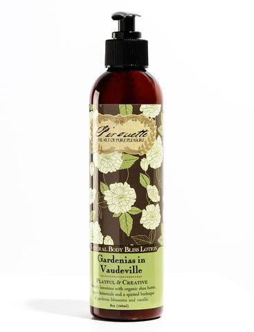 Gardenias in Vaudeville - Natural Lotion