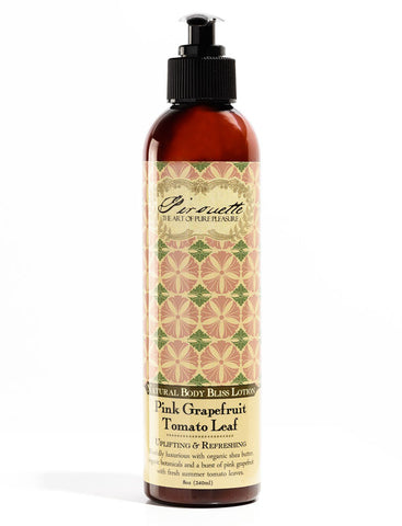 Pink Grapefruit Tomato Leaf - Natural Lotion
