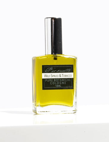 Wild Spruce and Tobacco - Natural Botanical Cologne