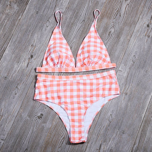 Checkered Two Piece - La Hermosa
