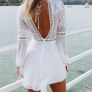 Lace Sundress - La Hermosa