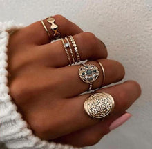 Load image into Gallery viewer, Lydia Rings Set - La Hermosa