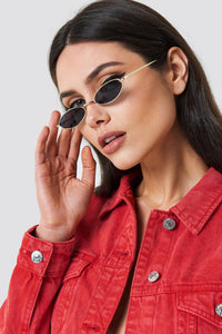 Pia Small Oval Sunglasses - La Hermosa