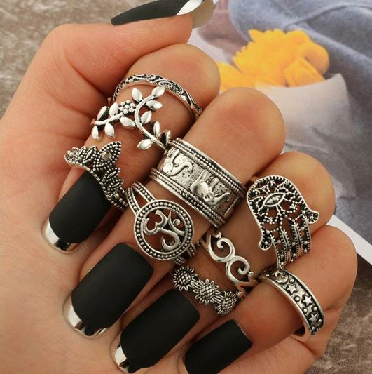Shakira Finger Rings Set - La Hermosa
