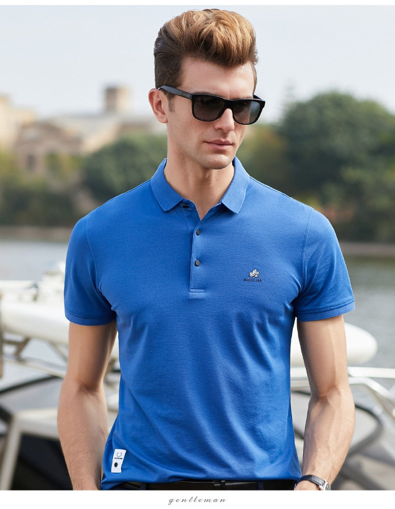 brobigshop™ New Men's  POLO Shirt Business Casual