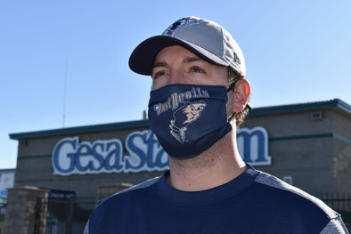 Dust Devils Licensed Face Mask