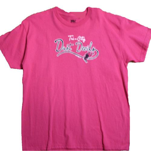 Tri-City Dust Devils Girls Pink Tri-City Tee